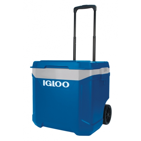 ICE COOLER WITH WHEELS (57 L)  55 x 46 x 50 cm