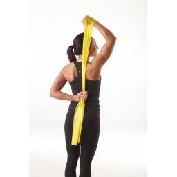EXERCISE BAND 5,50 m Yellow - Thin