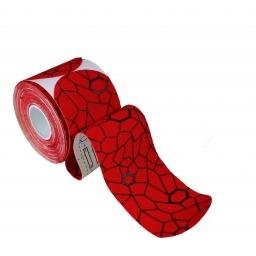 KINESIO TAPE PRECUT RED - 20 x 5cm x 25,4cm