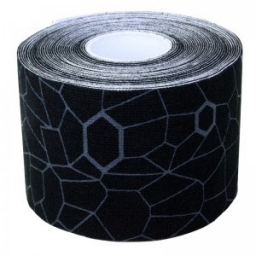 KINESIO TAPE BLACK/GREY Roll 5 cm x 5 m