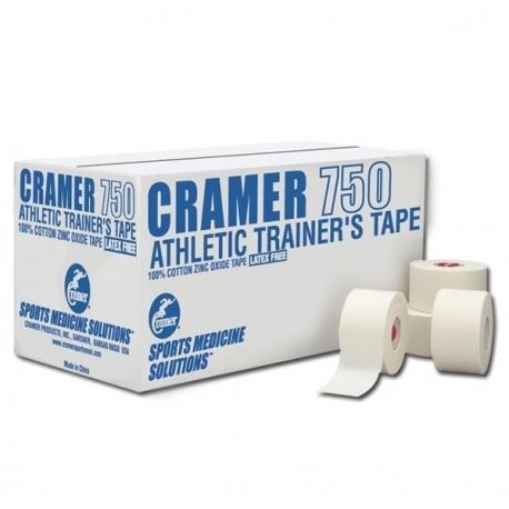 CRAMER 750 ATHLETIC TAPE- 3,8 cm x 13.70 m (32 rouleaux)