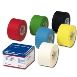 LEUKOTAPE CLASSIC Blue - 3,75 cm x 10 m - Box of 12 rolls