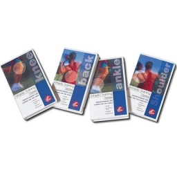 DVD / VIDEO ATHLETIC TRAINING SERIES  - Lot de 4 *