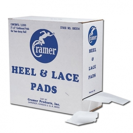 HEEL & LACE PADS - 2 rolls of 1000 pads