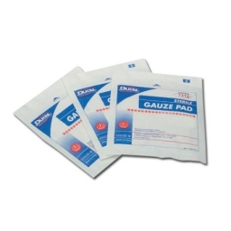 GAUZE PADS STERILE - 7,5 cm x 7,5 cm - Box of 100