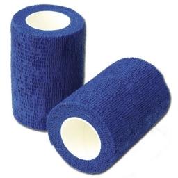 SPS ELAST COHESIVE 7,5cm x 4,5m Bleu (Boîte de 15 rouleaux)